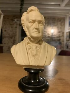 Genuine WAGNER bust Stone Sculpture Signed by A.Giannelli Italy