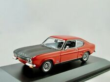 Ford Capri RS  1969-1973  rot   / Minichamps  1:43