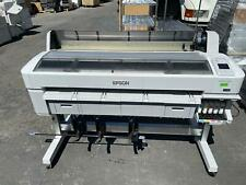 Epson Surecolor T7000 44 Wide Printer Larger Format Plotter No Hdd For Parts