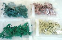 Four 4 Varied Sets War Soldiers Army Men 84 Total Military Plastic Toy Soldiers