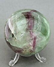 Fluorite Crystal Sphere 65mm in Diameter