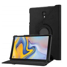 Samsung Galaxy Tab A 10.5 Zoll SM-T590 SM-T595 Tablet Tasche Hülle Etui Schwarz