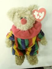 ty beanie babies piccadilly/ piccadilly the bear/ retired beanie baby/clown bear