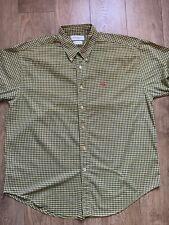 yves saint laurent Shirt Size Extra Large Mens Short Sleeve Vintage
