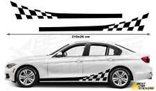 BMW Series 3 PerformanceSide Racing Stripes Car Stickers  Decal Graphics