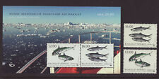 Greenland 2018 MNH - Fish in Nordic Waters, Joint Issue - m/sheet and 2 stamps