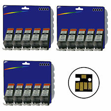 15 Black C525 Inks for Canon MG5320 MG6220 MG8220 non-OEM