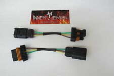 15-17 POLARIS RZR 900 TO RZR 1000 LED HEADLIGHT CONVERSION WIRE HARNESSES (Kit)