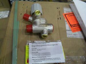 "Honeywell AMX300LF 3/4"" Lead free Thermostatic mixing valve 100-145 degree"