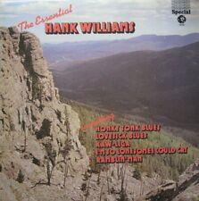 HANK WILLIAMS - THE ESSENTIAL HANK WILLIAMS -  LP