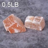 Rough Raw Orange Selenite Healing Crystal Chakra Reiki Gemstone Specimens 0.5LB