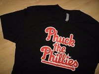 Phuck The Phillies Tee - Philadelphia MLB Baseball Game Rivalry Fan T Shirt Lrg