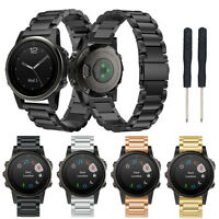 Replacement Stainless Steel Bracelet Wristband Strap For Garmin Fenix 5S Watch