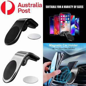 Universal 360° Rotating Car Mobile Phone Holder Magnetic Bracket Mount Air Vent