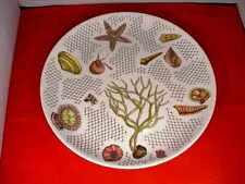 "Rare Original Vintage Fornasetti 10"" plaque Sea Life Design Mid-Century Italian"
