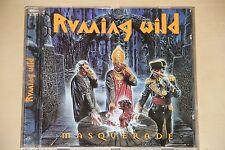 RUNNING WILD - Masquerade / 1995 Original NOISE Press N 0261-2 . Cd .