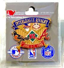 Pro Specialties Baltimore Orioles Atlanta Braves 1998 Interleague Rivalry Pin