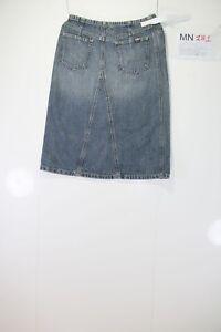 Mini Jupe Prendre Deux Genou (Code MN181) tg.41 W27 Jeans D'Occassion Vintage