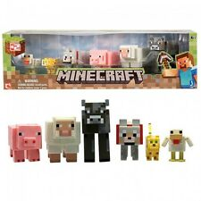 Minecraft Diamond Steve Action Figure With Accessories Official Merch