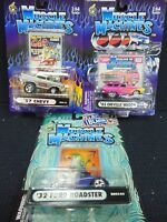 MUSCLE MACHINES DIE CAST METAL 1:64 SCALE CARS N.I.P *9*