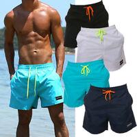 Men Swim Shorts Sport Trunks Running swimsuit Surt Board pants Brief Swimwear