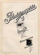 Curved Air Phantasmagoria Nick Pickett Silversleeves LP ad Time Out cutting 1972