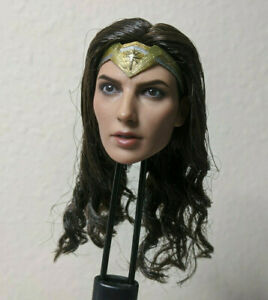 1/6 Deluxe Wonder Woman Justice League Hot Toys Head Sculpt Official No Display