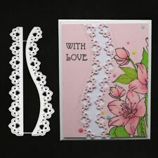 2pcs Lace Cutting Dies Stencil Scrapbooking Album Paper Card Embossing Craft DIY