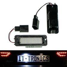Plaque d'immatriculation éclairage LED Convient pour vw golf 4/5 + Limo, LUPO, polo 9n, passat