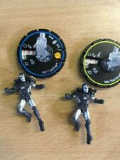 "HeroClix ""Armor Wars""War Machine 068 experienced 067 rookie 2 figures"