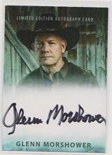 GLENN MORSHOWER AUTOGRAPH TRADING CARD NEW YORK COMIC CON EXCLUSIVE LIMITED CARD