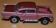 Matchbox Lesney Superfast No 4 '57 Chevy in Metallic Pink