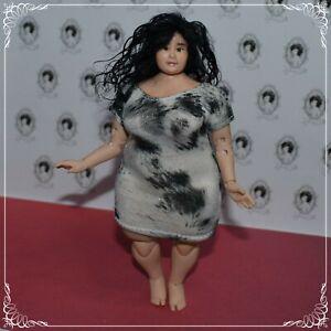 NEW BODY ooak 1/12 scale handmade BIG GIRL doll - by Zjakazumi - mature content