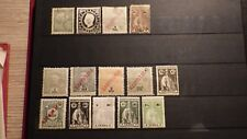 14x Timbres Stamps INDES PORTUGAISES Portugal India INHAMBANE *