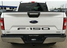 ABS PLASTIC Matte Black Tailgate Inserts For 2018+ Ford F150 New Free Shipping