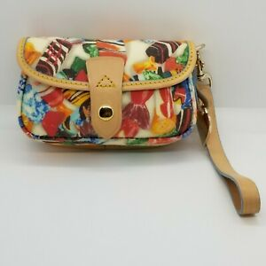 Dooney & Bourke Flap Wristlet