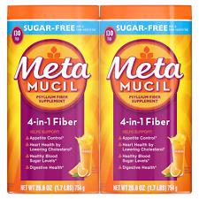 Metamucil Sugar Free Orange Fiber Supplement, Smooth Powder (53.2 oz.)
