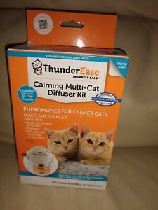 Thunderease multi Cat Diffuser kit calming NEW reduce tension conflict fighting