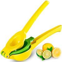 Zulay Premium Quality Metal Lemon Lime Squeezer - Manual Citrus Press