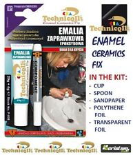ENAMEL REPAIR KIT Bath Sink Shower Tray CHIP WHITE Ceramic Acrylic NOT PAINT