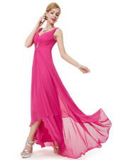 Ever-Pretty Pink Christmas Holiday Homecoming Party Long Maxi Dress 09983 Size 4 Hot Pink 14