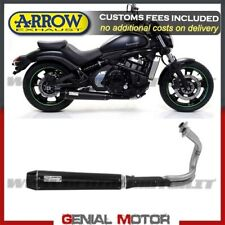 Full Exhaust Arrow Rebel Steel Black Kawasaki Vulcan S 650 Cafe 2017 > 2019