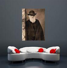 CHARLES DARWIN EVOLUTION THEORY ORIGIN SPECIES GIANT POSTER PRINT X1603