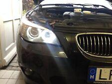 2X BMW 5er E39 E61 ANGEL EYE POWER LED BMW mit original Scheinwerfer E-MARK NEU