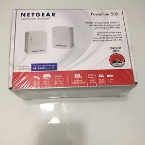 NEW Netgear Powerline 500 Extend Internet Access XAVB5201 NEW SEALED BOX