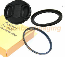 67mm Filter Adapter +MRC Nano MRC UV Filter +Cap Canon PowerShot SX60 SX50 HS