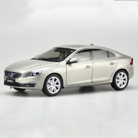 1/18 Scale Volvo S60 S60L T5 Gray Seashell Color Diecast Car Model Toy
