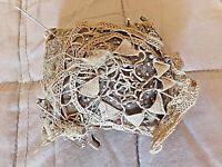 Coussin de globe de mariée-aiguilles de dentellière-couturière-Napoléon III