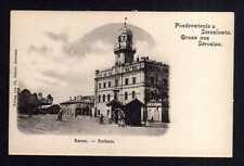 110718 AK Jaroslau Jaroslaw Ratusz Rathaus um 1900
