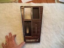 CORVETTE 1972-76 Center Console Shift Plate, woodgrain, automatic, OEM nice !
